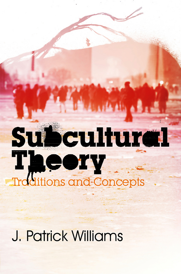 Subcultural Theory. Traditions and Concepts