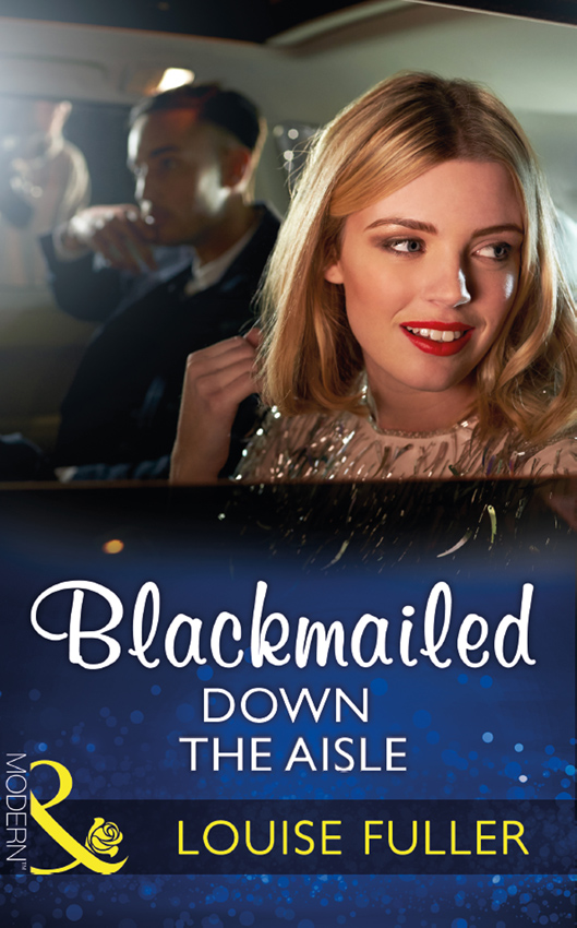 Blackmailed Down The Aisle
