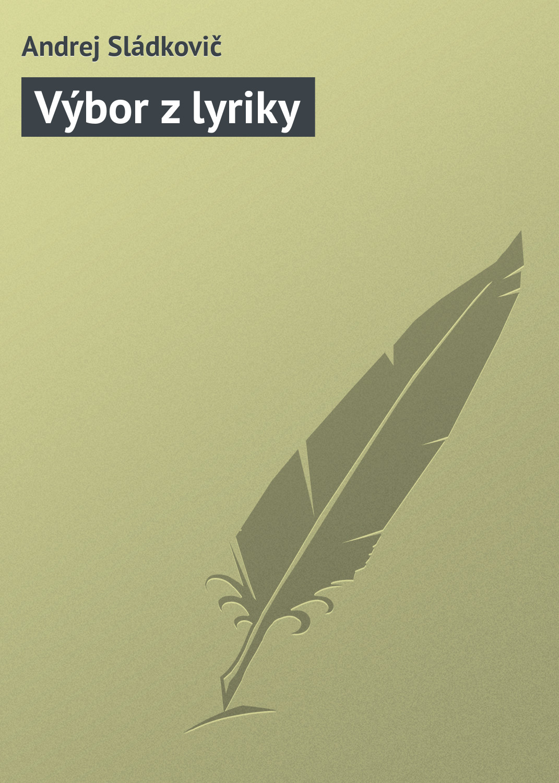 Výbor z lyriky