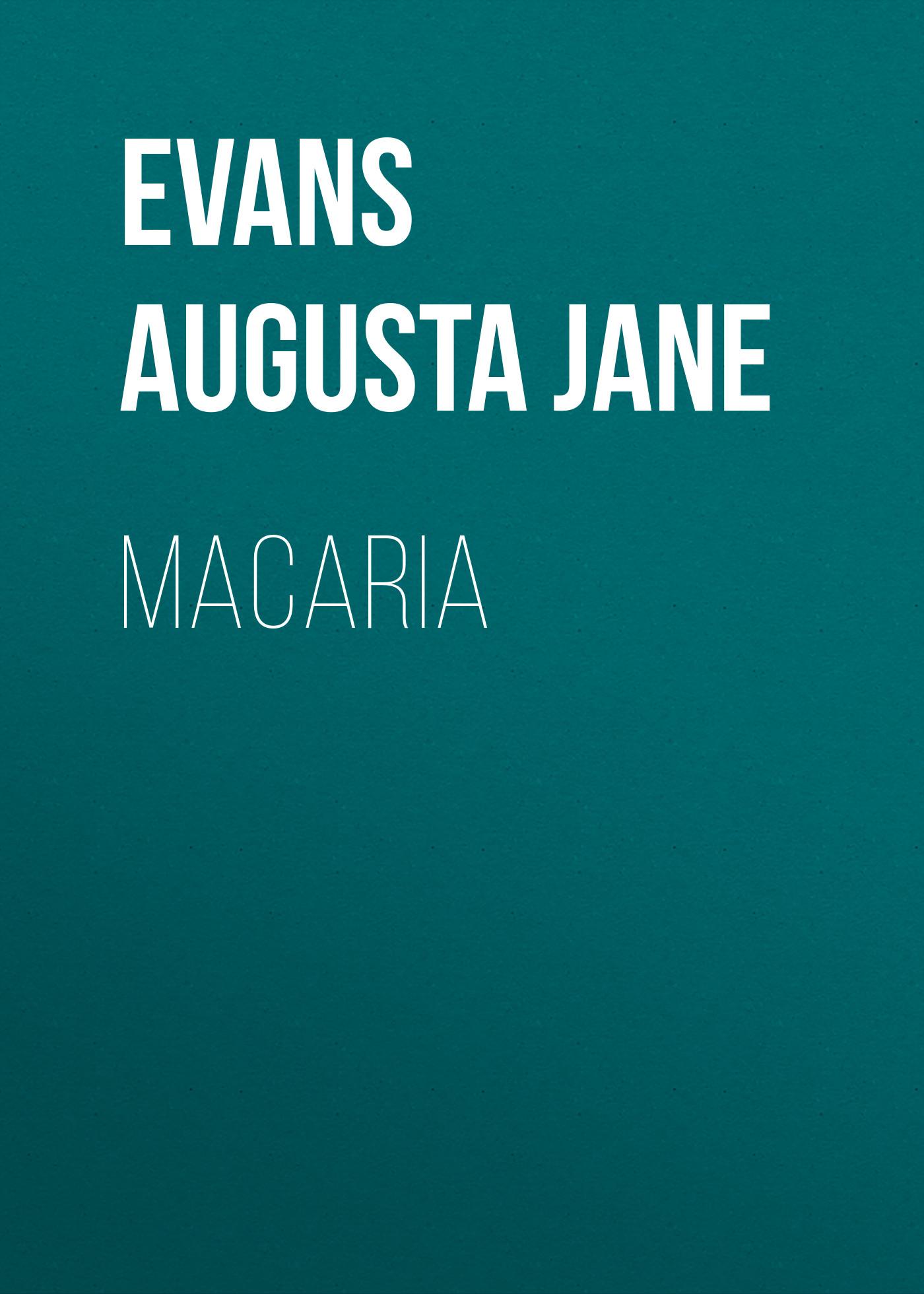 Evans Augusta Jane Macaria