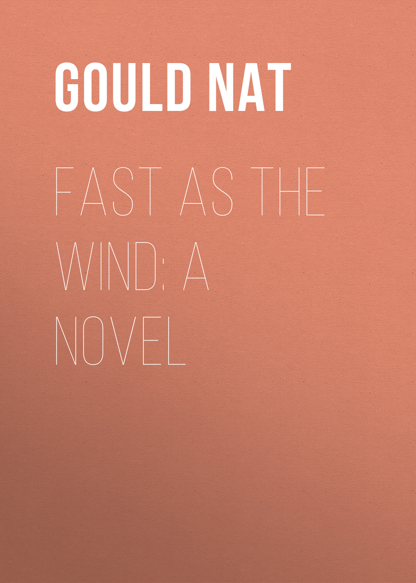 Gould Nat Fast as the Wind: A Novel ароматизатор aroma wind 002 a