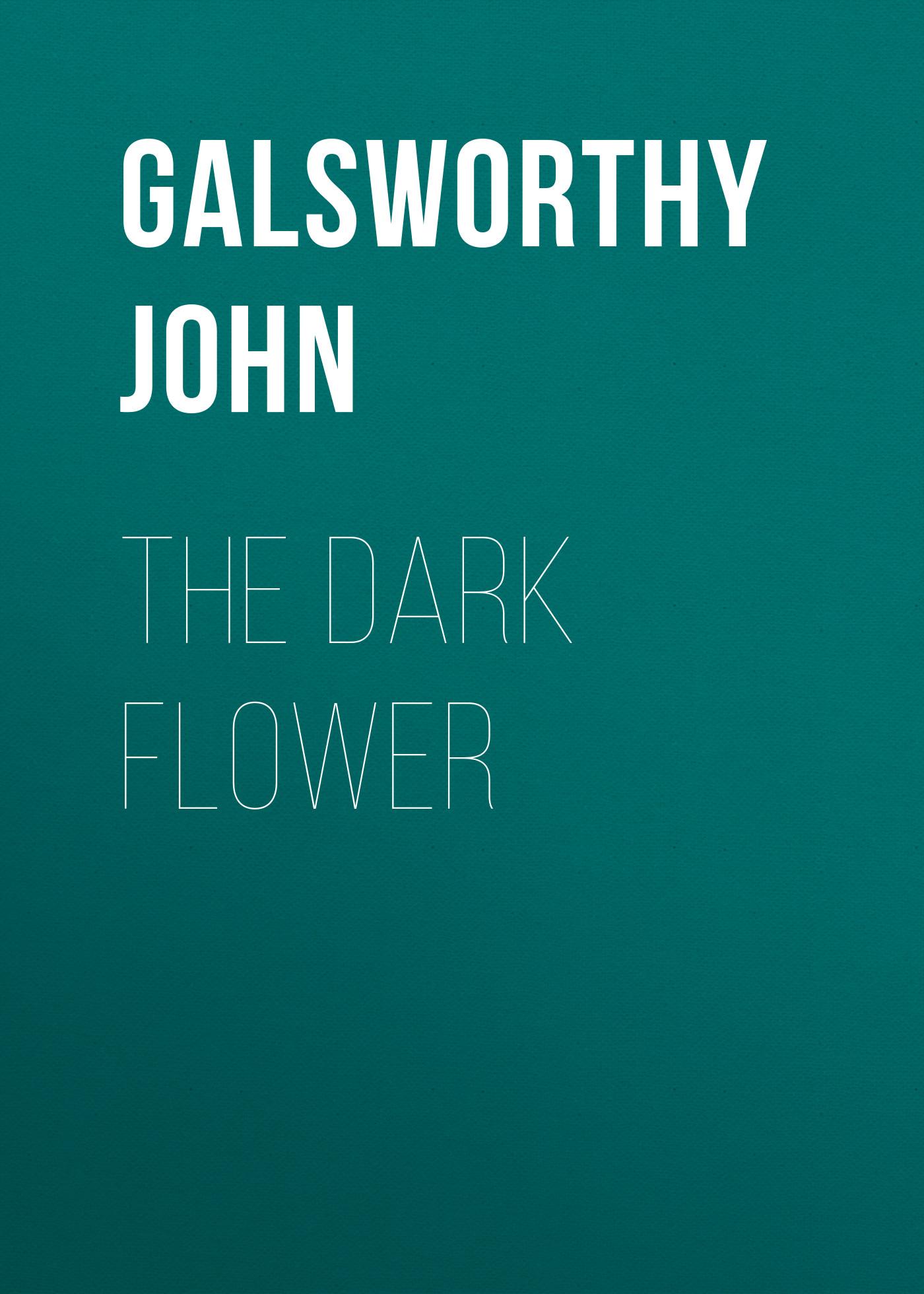Galsworthy John The Dark Flower galsworthy john the fugitive