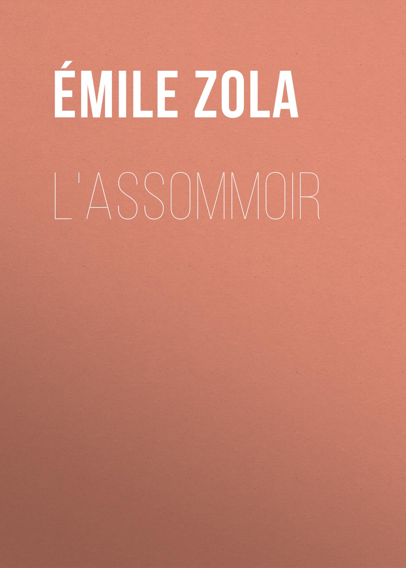 Эмиль Золя L'Assommoir эмиль золя эмиль золя собрание сочинений в 16 томах комплект
