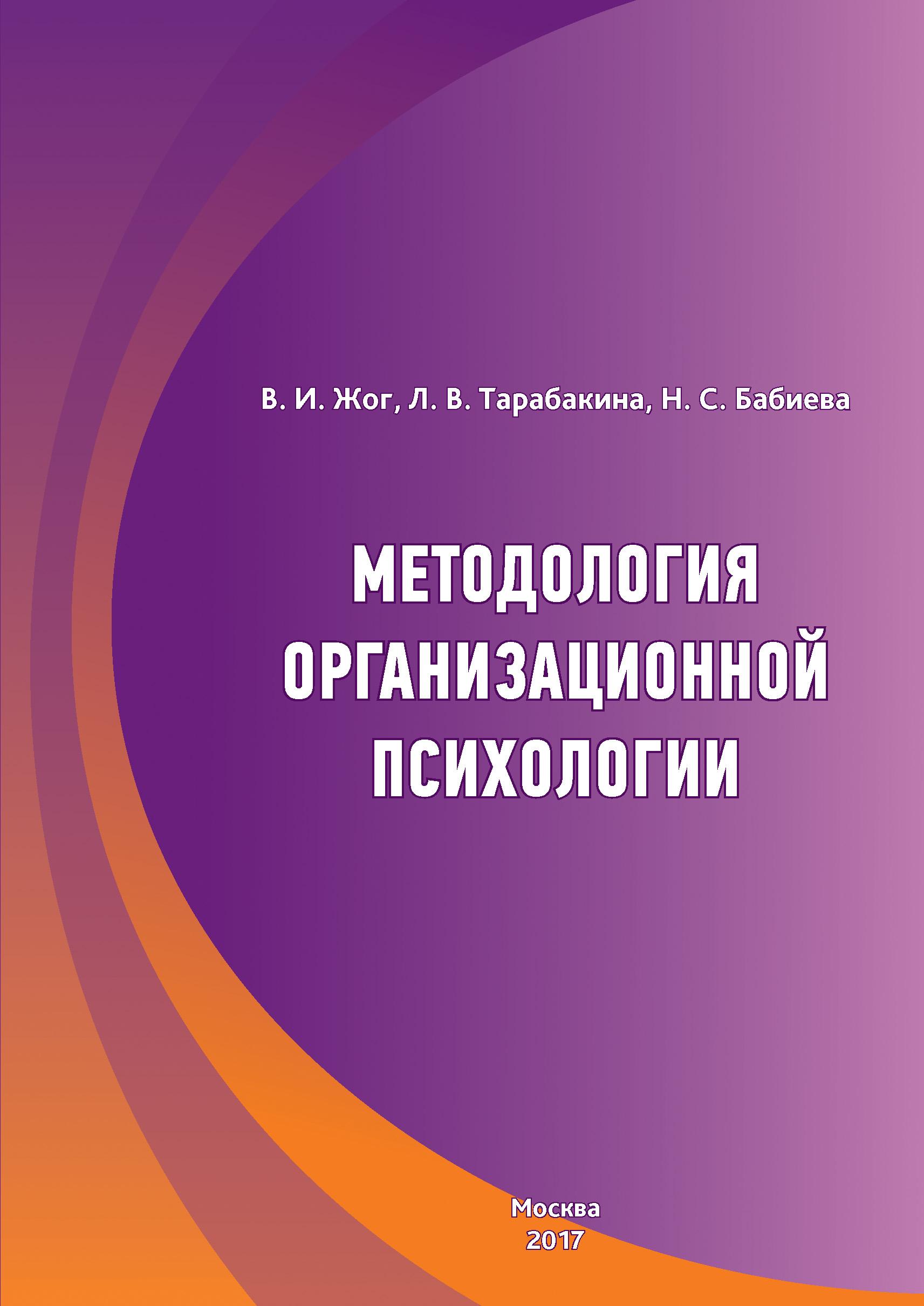 Методология организационной психологии