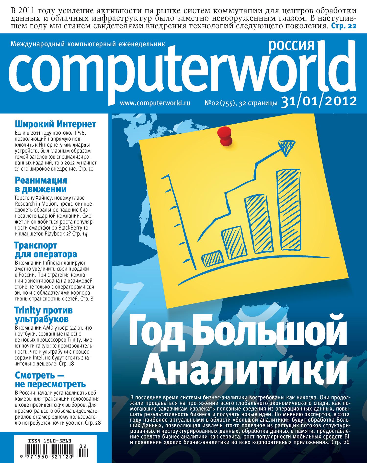 Журнал Computerworld Россия №02/2012