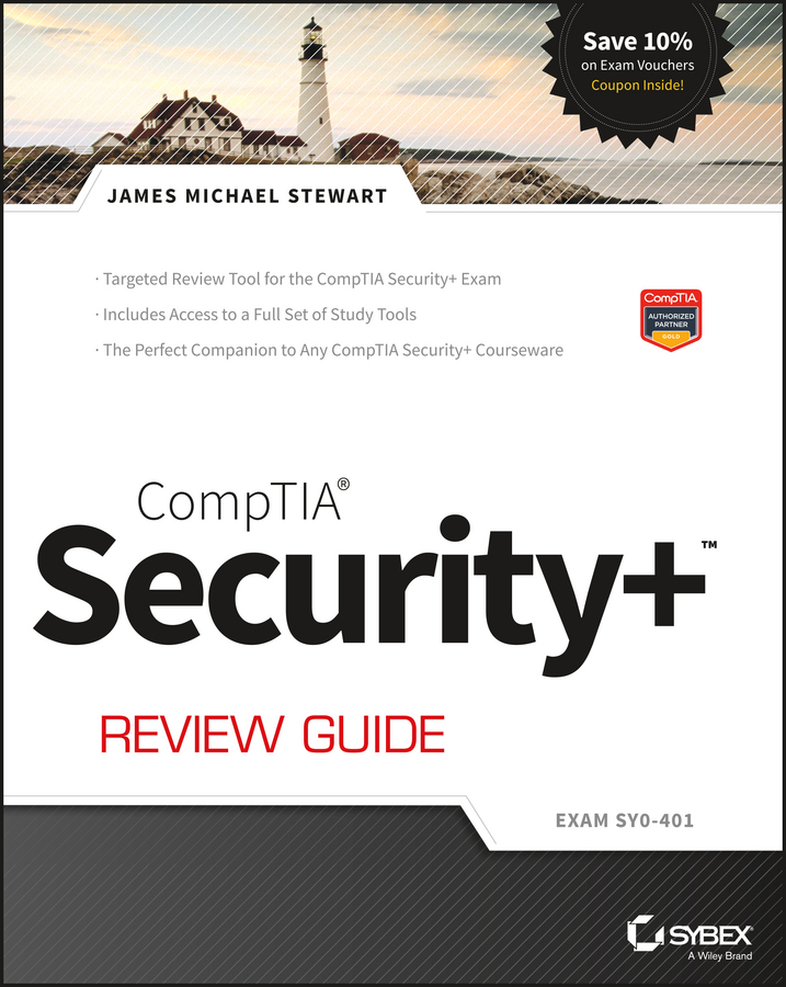 James M. Stewart CompTIA Security+ Review Guide. Exam SY0-401 new safurance digital electronic key less keypad security entry door lock reversible handle building automation access control
