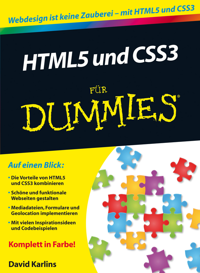 Judith Muhr HTML5 und CSS3 für Dummies ed tittel beginning html5 and css3 for dummies