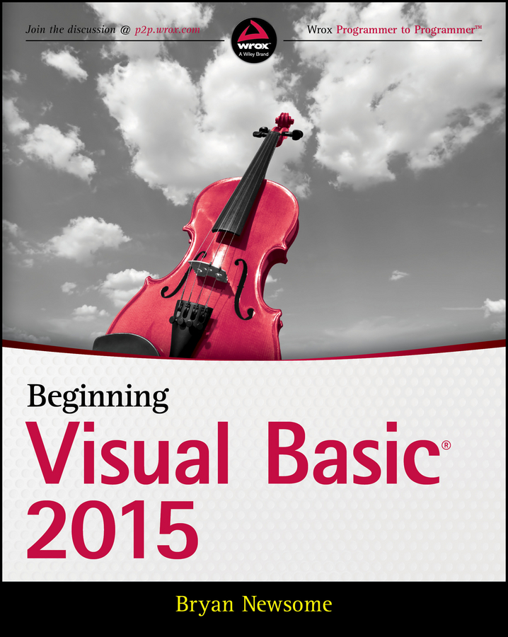 Bryan Newsome Beginning Visual Basic 2015