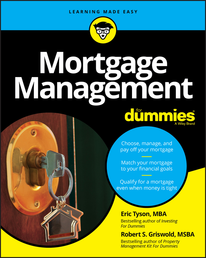 Eric Tyson Mortgage Management For Dummies auto loan industry customer loan data file bank loan member information record loan book