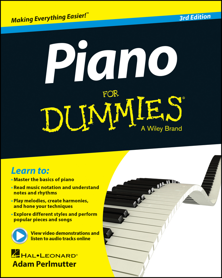 лучшая цена Adam Perlmutter Piano For Dummies