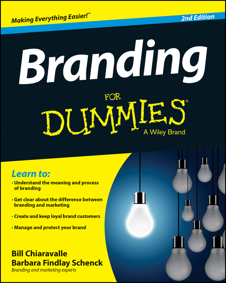 Bill Chiaravalle Branding For Dummies csr and corporate branding