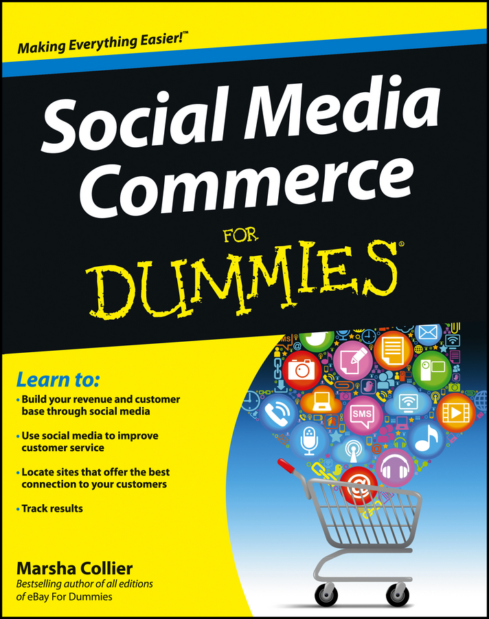 Marsha Collier Social Media Commerce For Dummies комплект crown cmmk 952w черный usb cm000001477