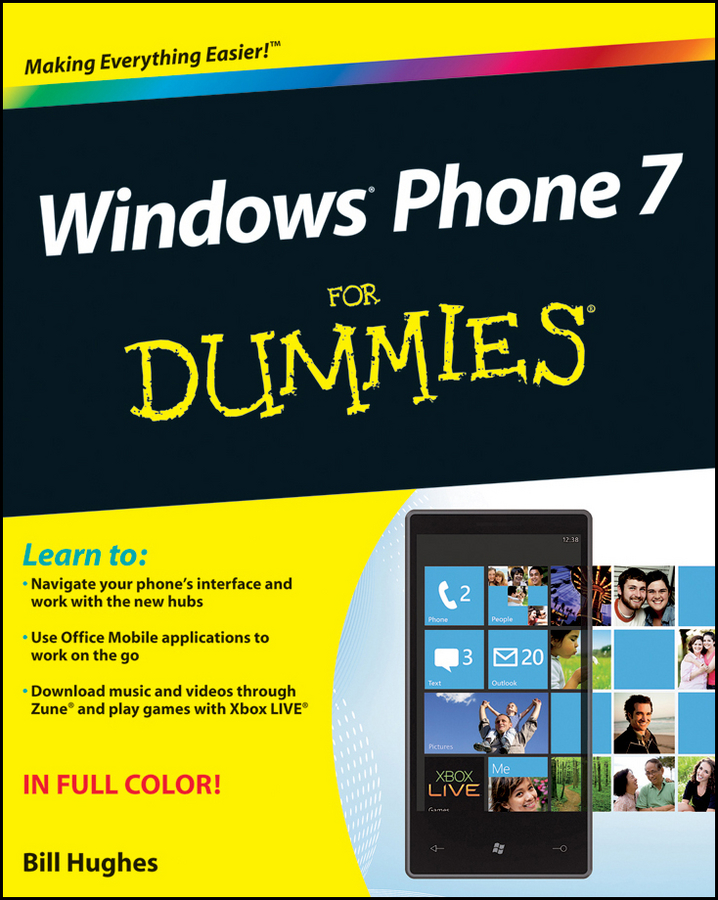 Bill Hughes Windows Phone 7 For Dummies ishfaq ahmed and tehmina fiaz qazi mobile phone adoption a habit or necessity