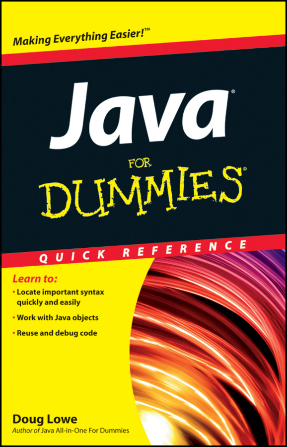 Doug Lowe Java For Dummies Quick Reference