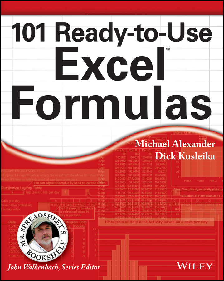 Michael Alexander 101 Ready-to-Use Excel Formulas цена 2017