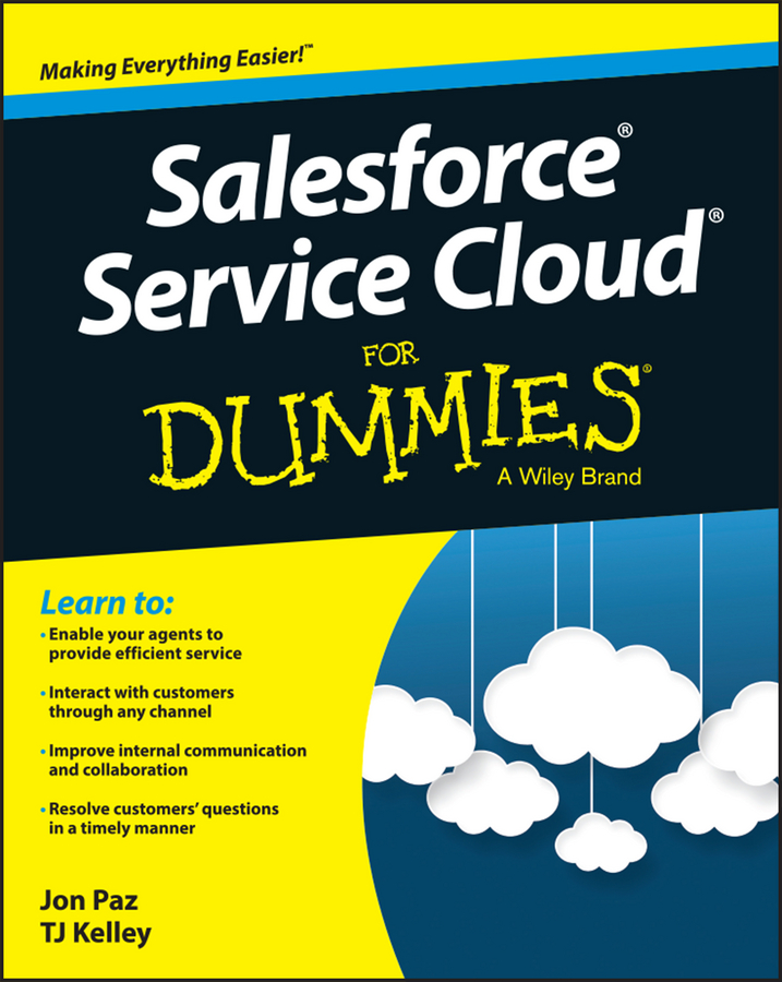 Jon Paz Salesforce Service Cloud For Dummies