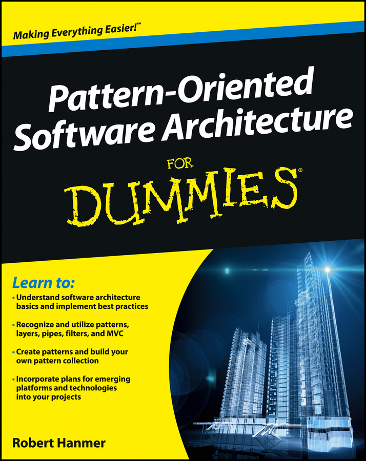 Robert Hanmer Pattern-Oriented Software Architecture For Dummies churchill набор подставок под горячее 4 пр 29х21 см hidw01561 churchill