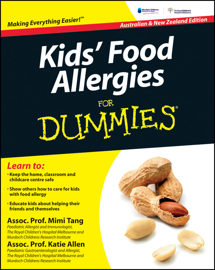 Mimi Tang Kids' Food Allergies for Dummies my first book about food