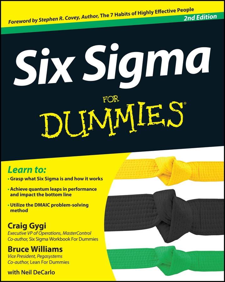 Bruce Williams Six Sigma For Dummies