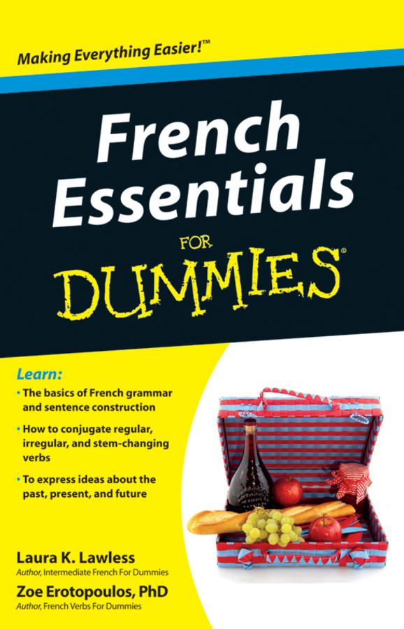 Zoe Erotopoulos French Essentials For Dummies french for dummies® audio set