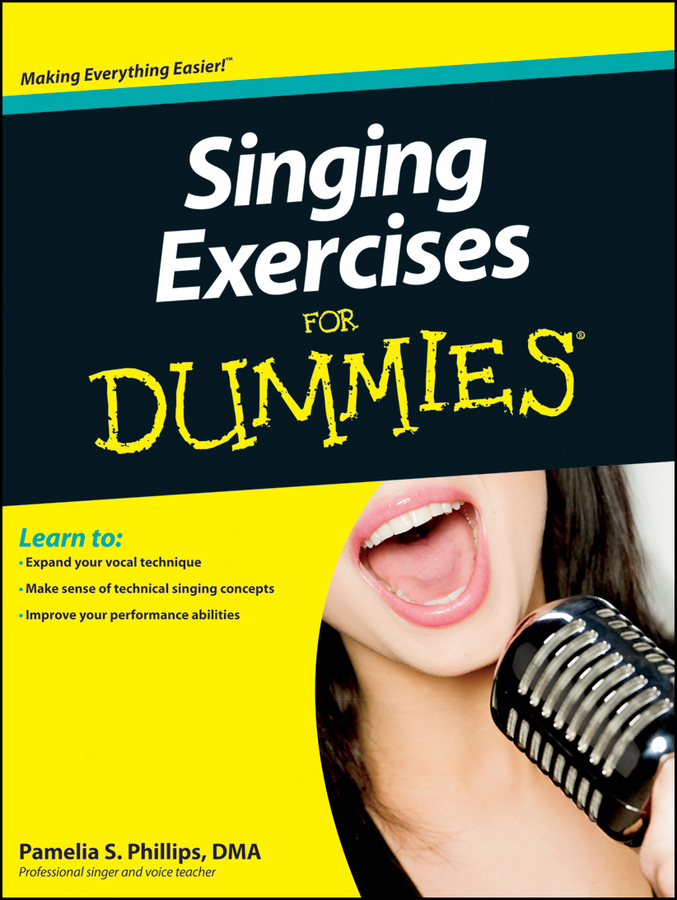 Pamelia Phillips S. Singing Exercises For Dummies randy vance power boating for dummies