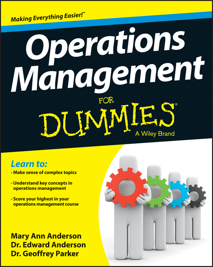 Geoffrey Parker Operations Management For Dummies laura capell event management for dummies