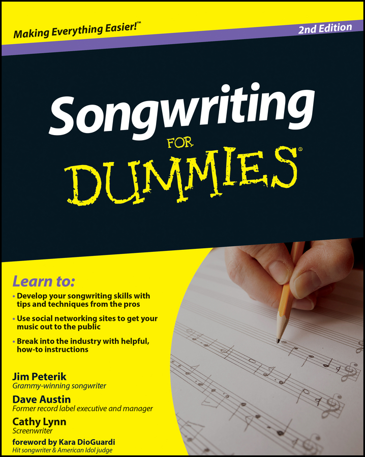 Dave Austin Songwriting For Dummies scorpions – born to touch your feelings best of rock ballads cd