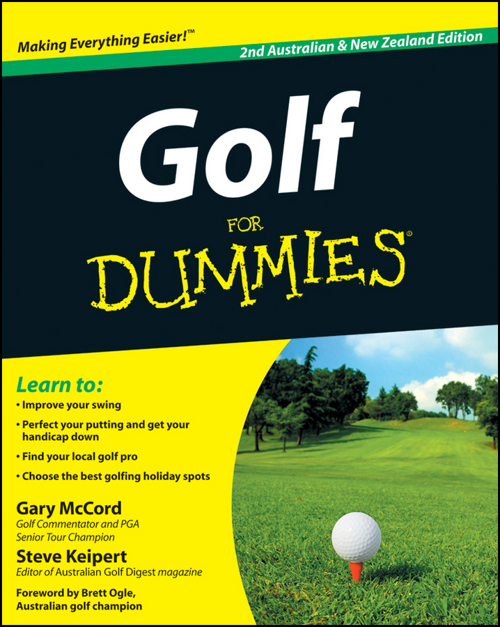 Gary McCord Golf For Dummies gary mccord golf for dummies