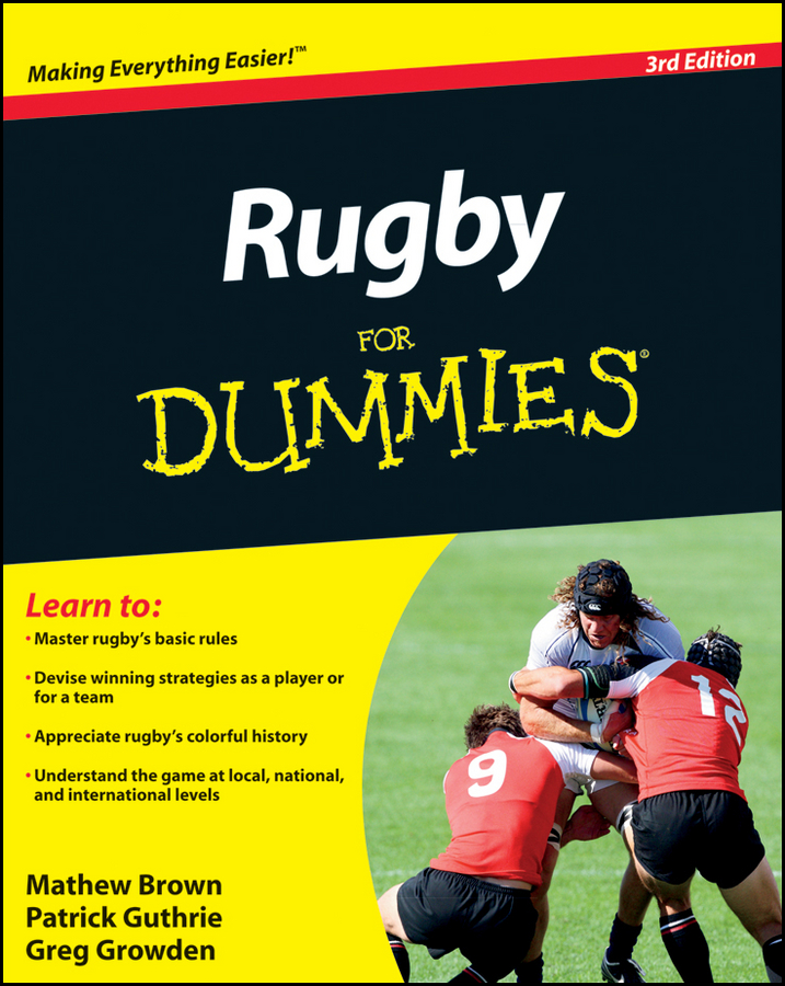 Mathew Brown Rugby For Dummies morphological adaptations specific to rugby players