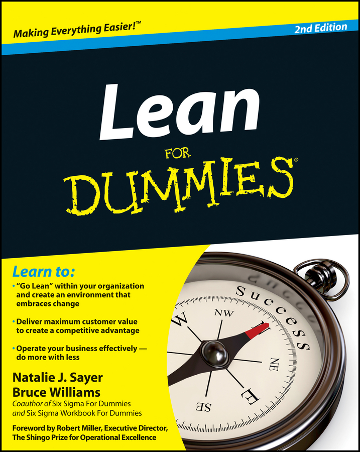 Bruce Williams Lean For Dummies lean in