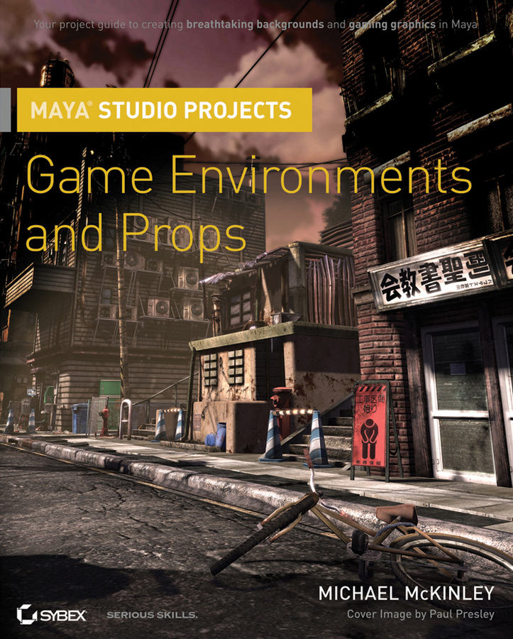 Michael McKinley Maya Studio Projects. Game Environments and Props