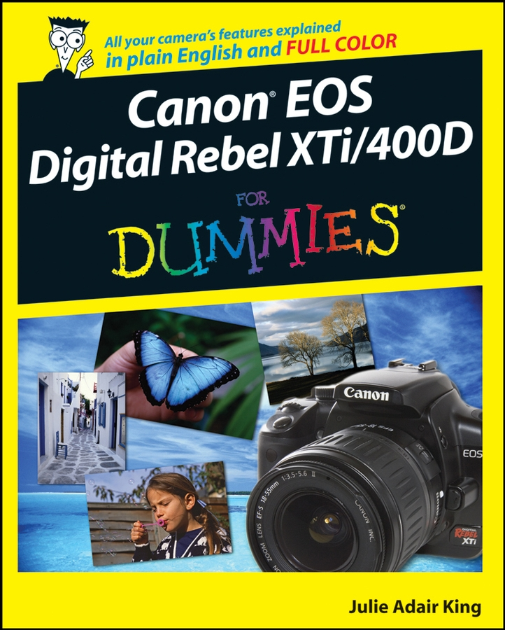 Julie Adair King Canon EOS Digital Rebel XTi / 400D For Dummies julie adair king canon eos rebel t6 1300d for dummies