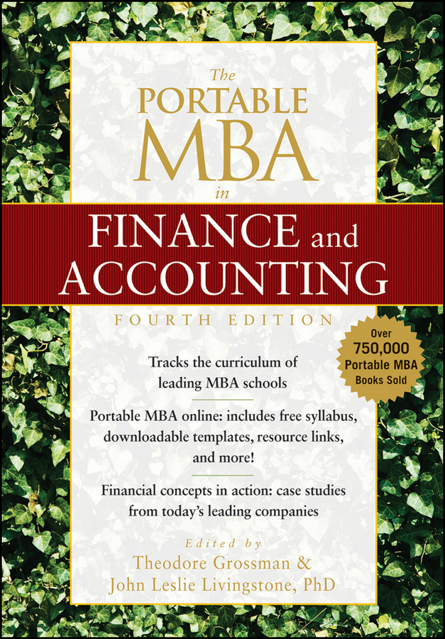 Theodore Grossman The Portable MBA in Finance and Accounting inventory accounting