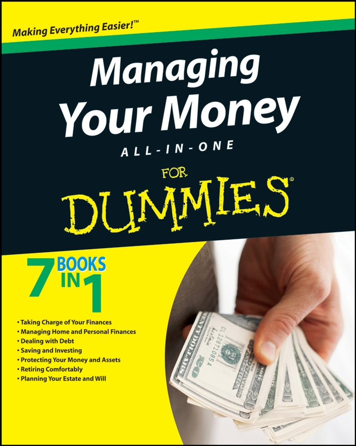 Consumer Dummies Managing Your Money All-In-One For Dummies backpack renata corsi backpack