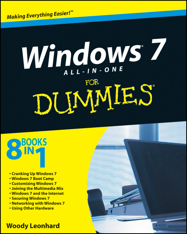 Woody Leonhard Windows 7 All-in-One For Dummies