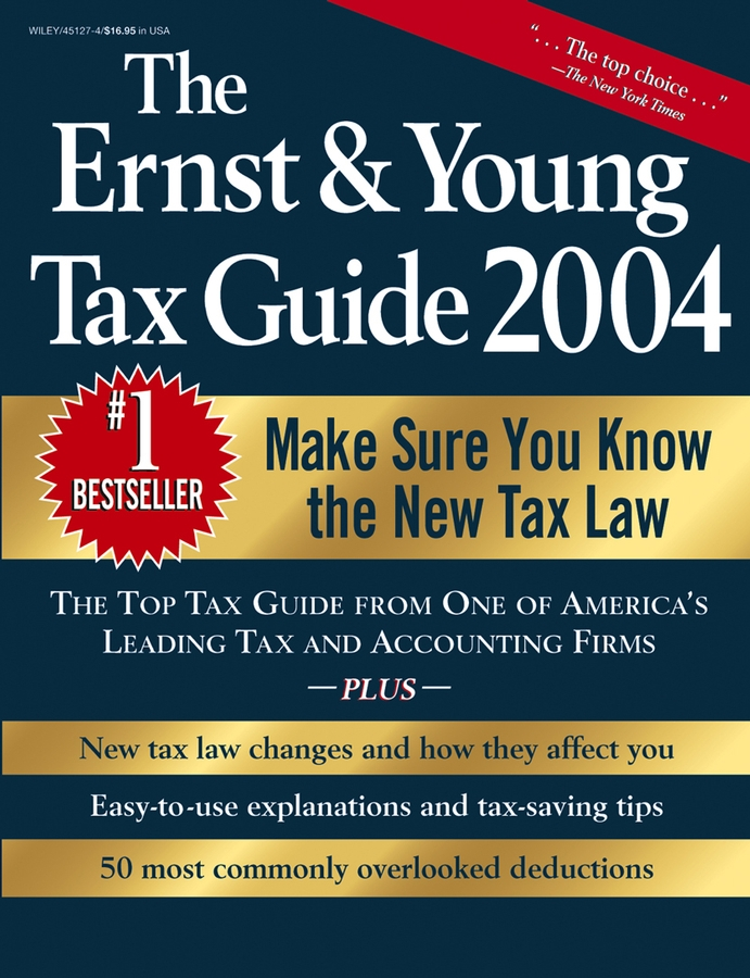 Peter Bernstein W. The Ernst & Young Tax Guide 2004 ernst clayton holt the mark of the knife