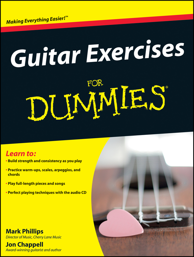 Jon Chappell Guitar Exercises For Dummies central chords of guitar and their applications
