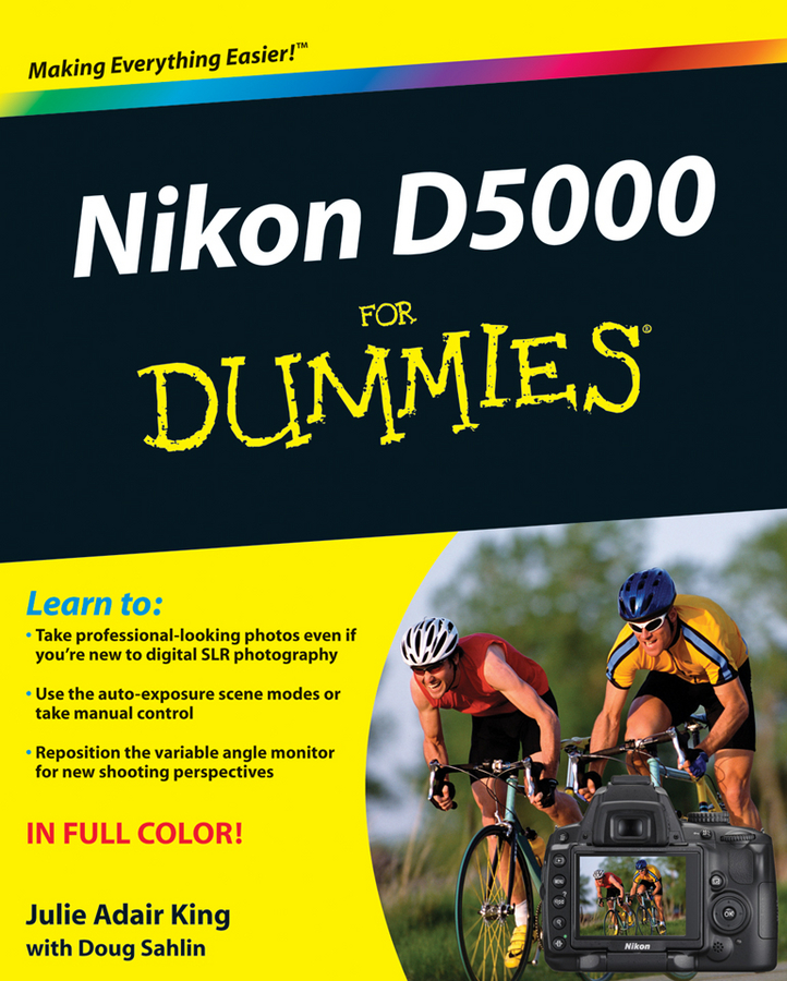 Julie Adair King Nikon D5000 For Dummies julie adair king nikon d7500 for dummies