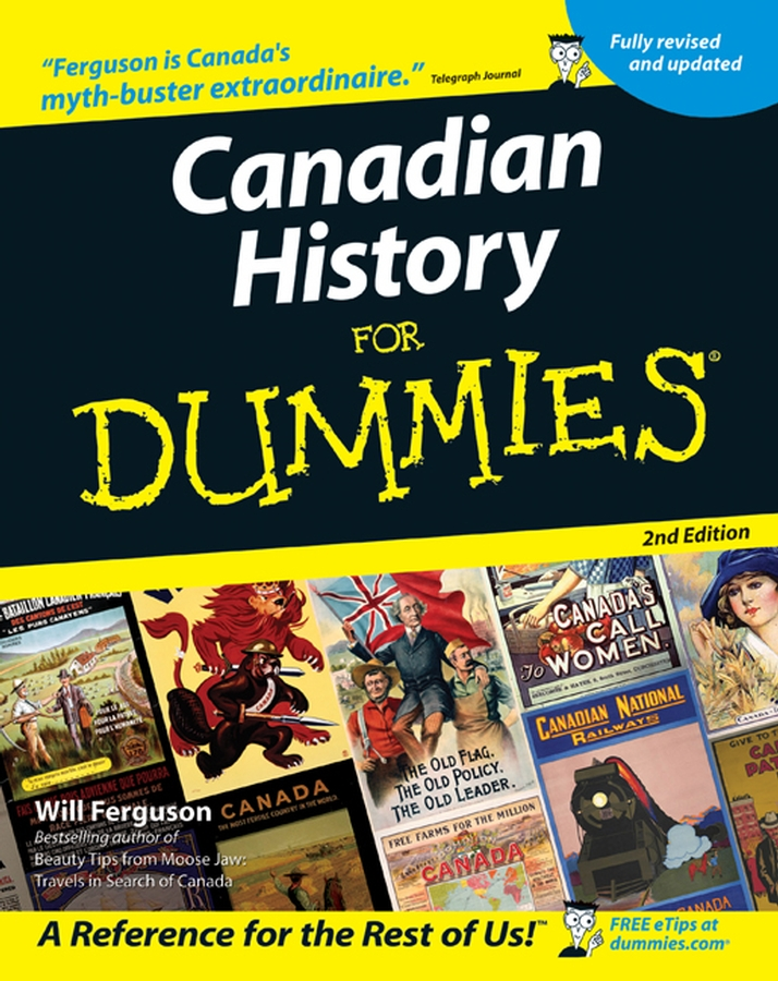 Will Ferguson Canadian History for Dummies mike cronin irish history for dummies