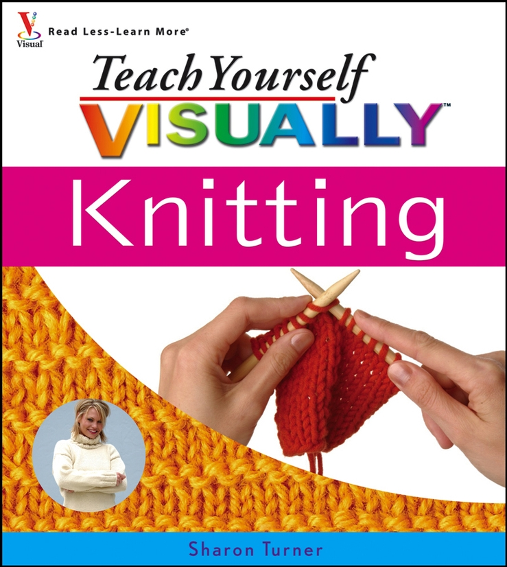 Sharon Turner Teach Yourself VISUALLY Knitting signed bts jin autographed photo love yourself 4 6 inches freeshipping 092017c