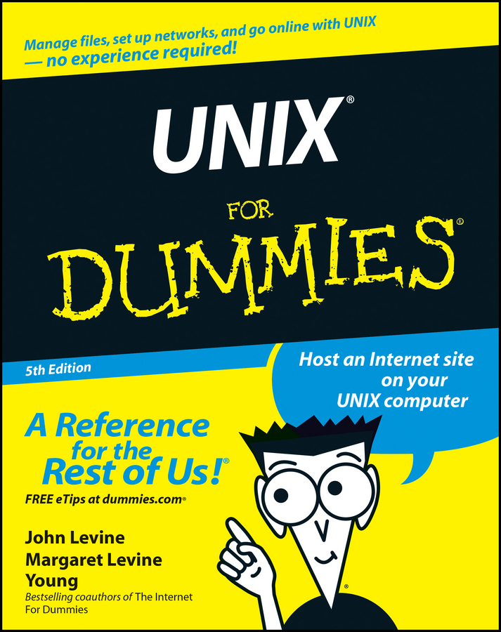 John Levine R. UNIX For Dummies юрий магда unix