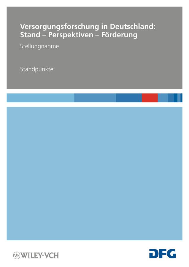 Deutsche Forschungsgemeinschaft (DFG) Versorgungsforschung in Deutschland. Stand – Perspektiven – Förderung – Standpunkte j p bronner der weinbau in sud deutschland erster teil