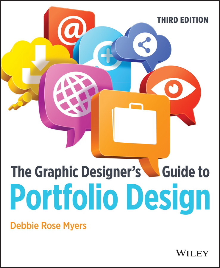 Debbie Myers Rose The Graphic Designer's Guide to Portfolio Design graphic print drop shoulder pullover