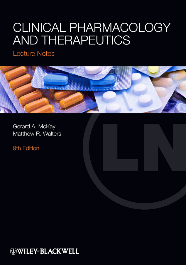 Walters Matthew R. Clinical Pharmacology and Therapeutics lecture notes pharmacology
