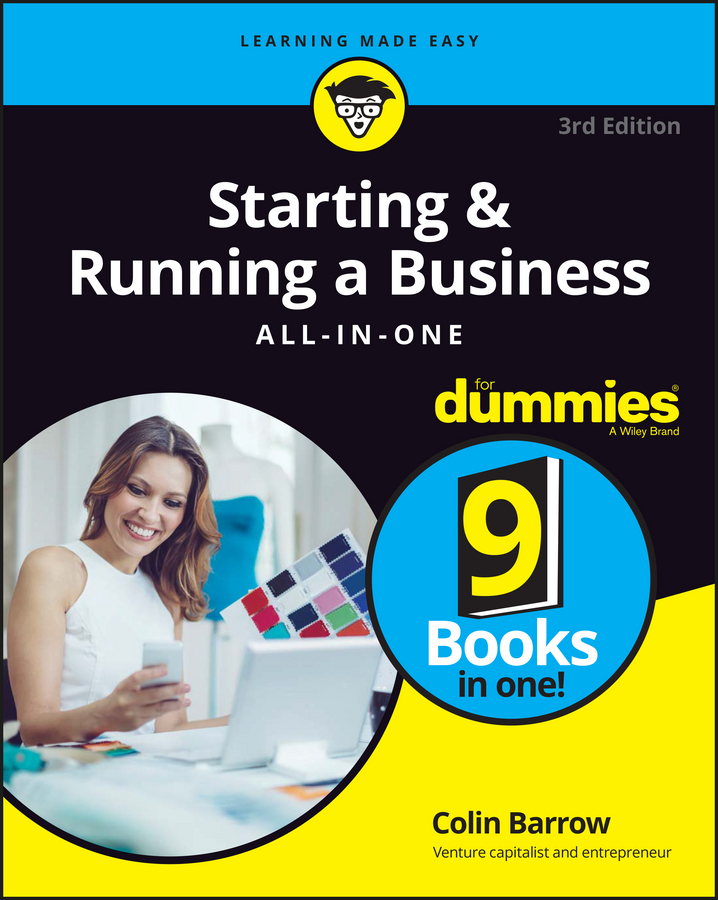 Colin Barrow Starting and Running a Business All-in-One For Dummies joel elad starting an online business all in one for dummies