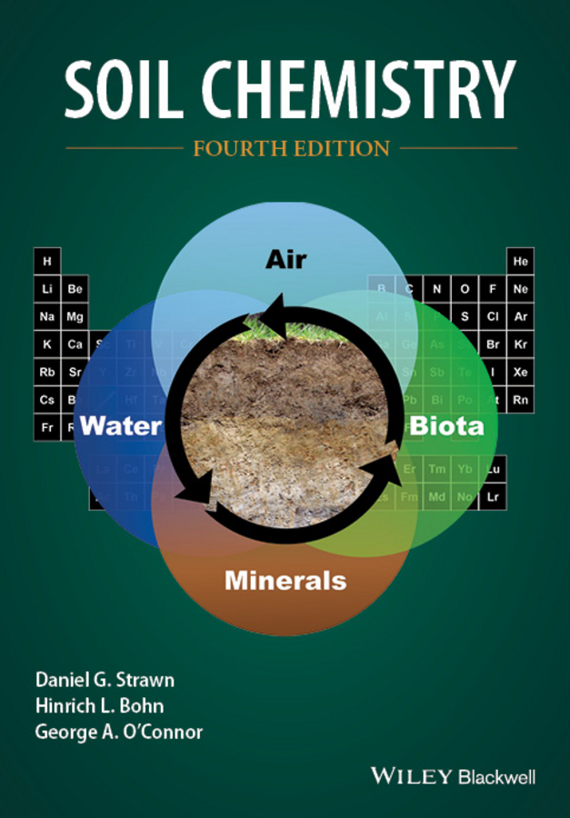 Hinrich Bohn L. Soil Chemistry peter hooda trace elements in soils isbn 9781444319484