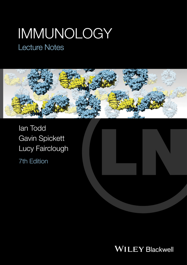 Gavin Spickett Lecture Notes: Immunology lecture notes pharmacology