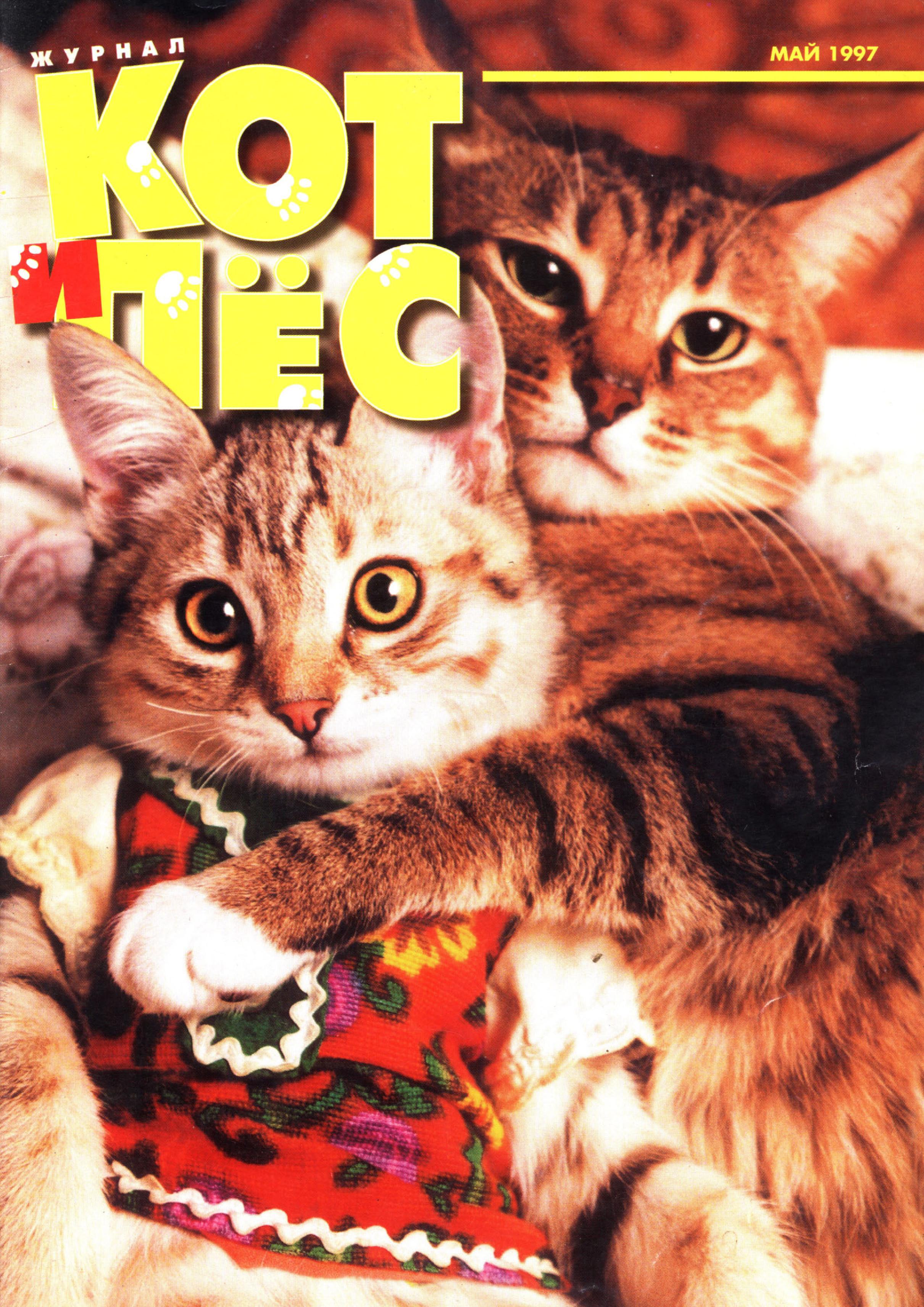 Отсутствует Кот и Пёс №05/1997