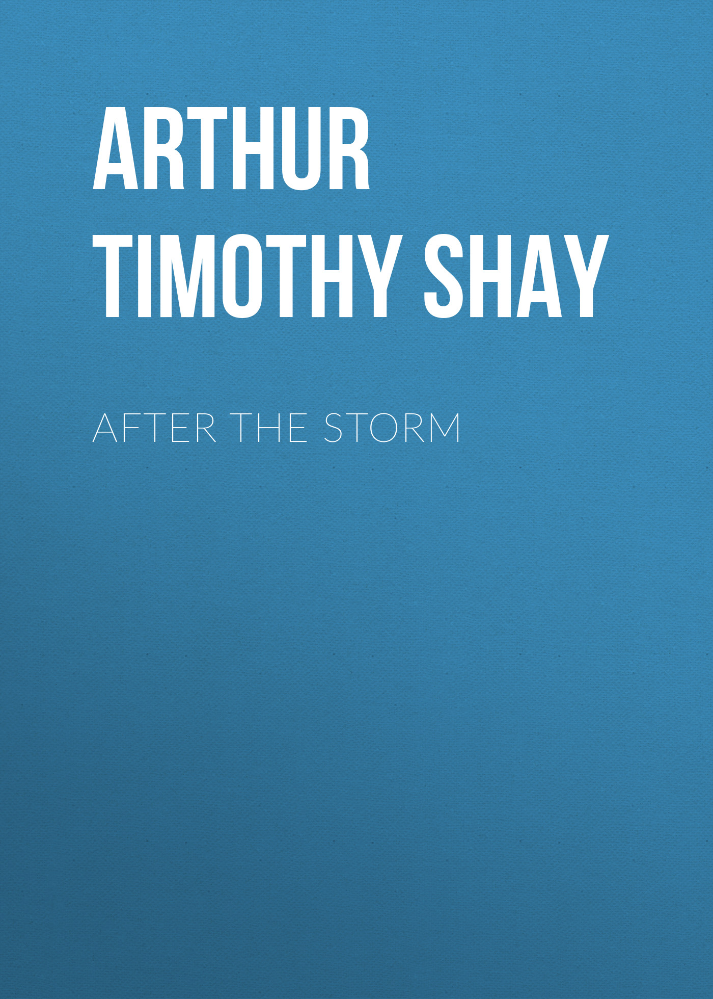 лучшая цена Arthur Timothy Shay After the Storm