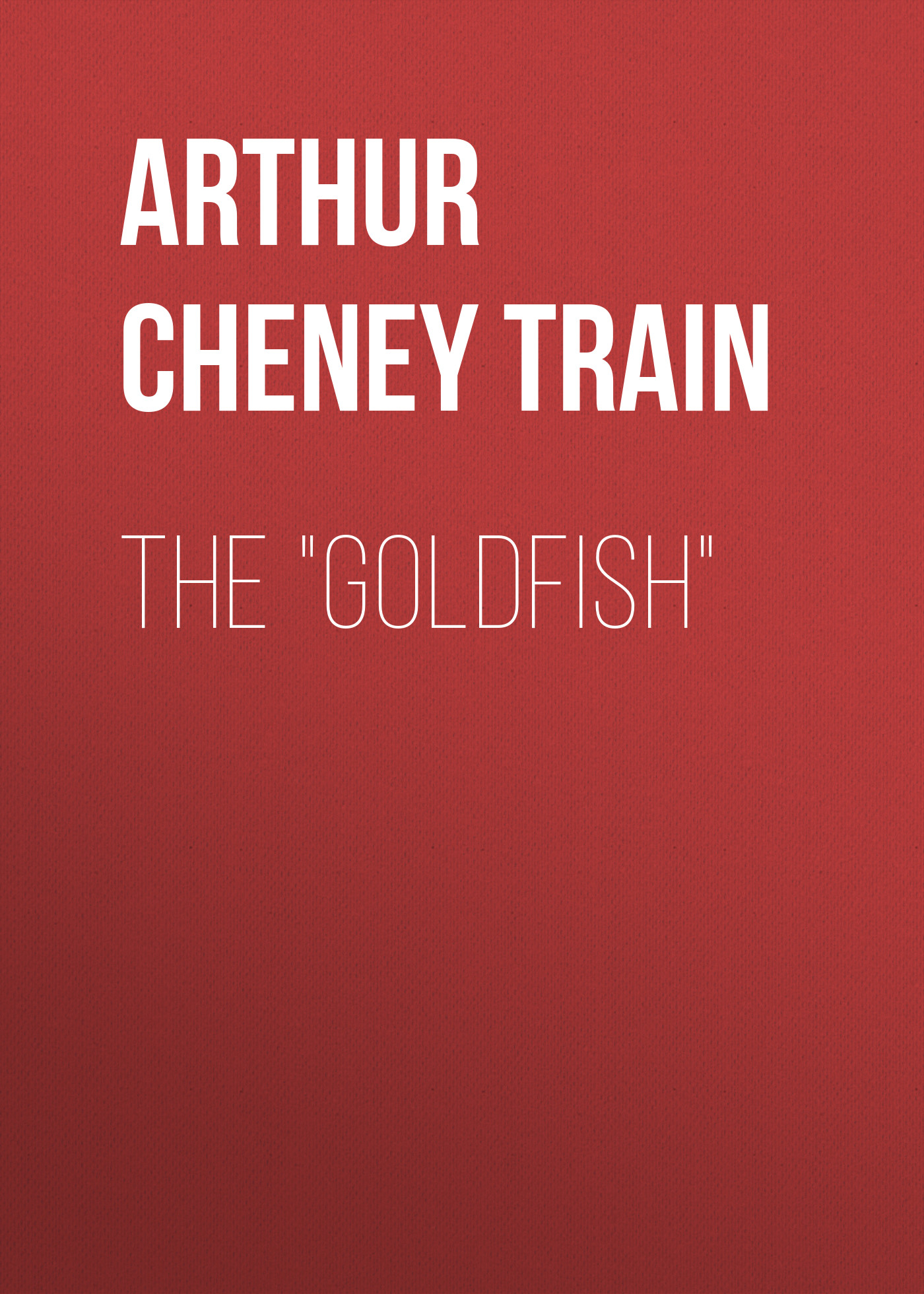 Arthur Cheney Train The Goldfish